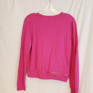 Michael Kors pink/berry sweater